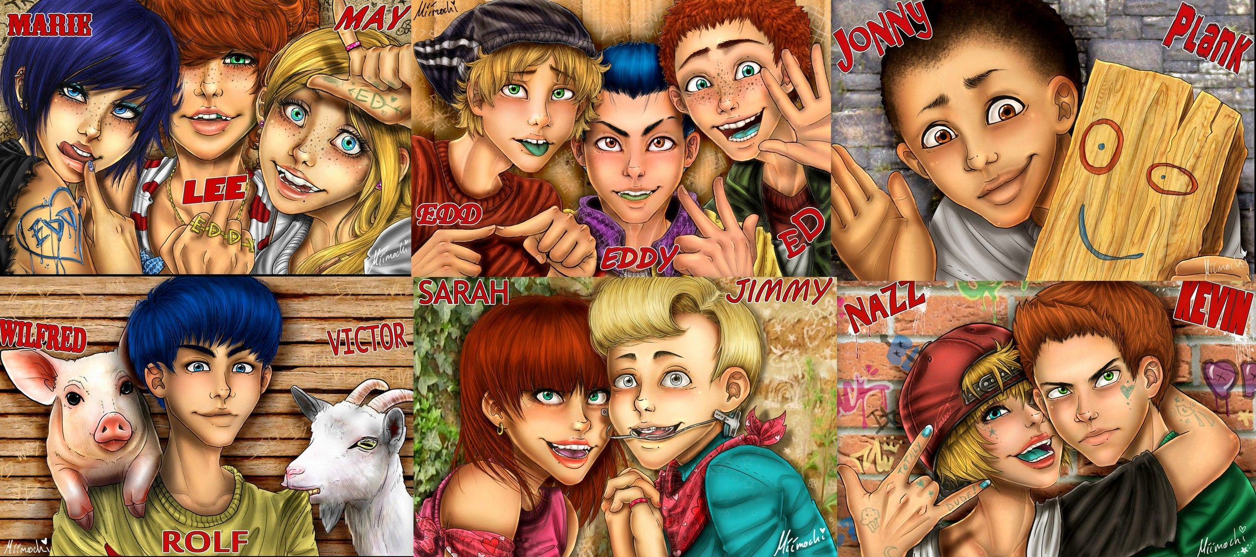 Wow Got To Love Anime Gives A Whole New View Of Ed Edd N Eddy