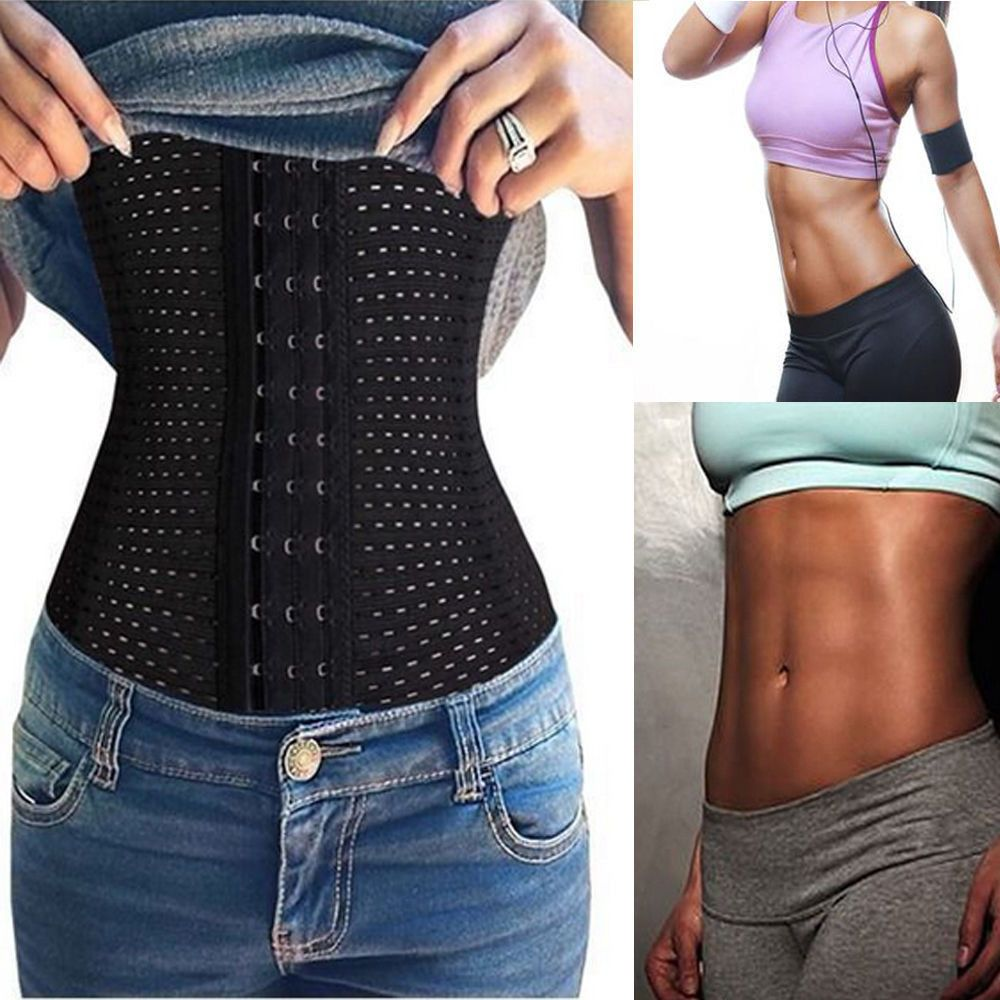8e6e5f3cd8 Waist Trainer Slimming Belt Hot Body Shaper Modeling Strap Belt Slimming  Corset  Queenral  WaistCinchers