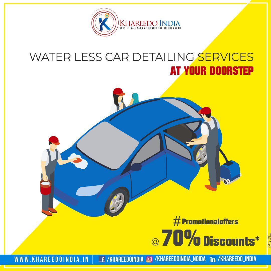 Professional Car Dry Cleaning services at your Doorstep