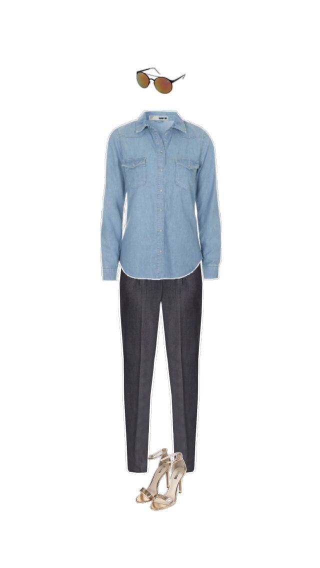 Sonnenbrille #Quay Hemd und Schuhe #Topshop Hose #Soyaconcept
