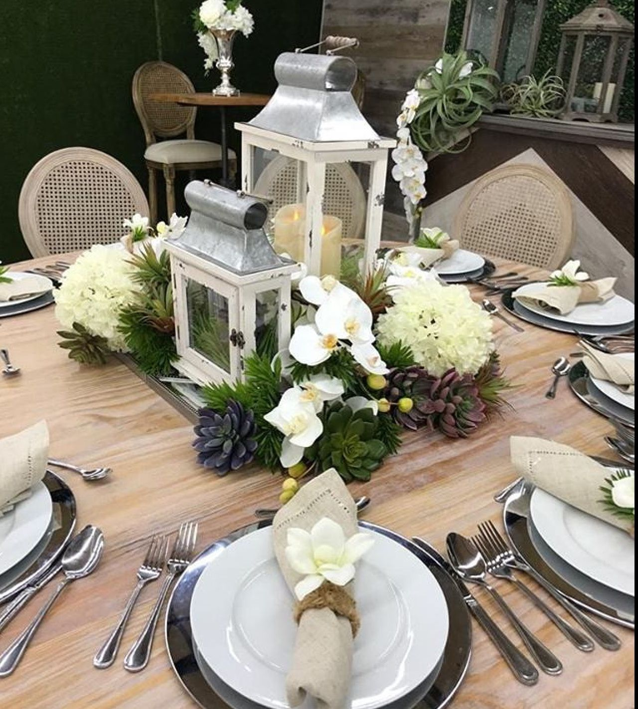 Lantern Reception Centerpiece