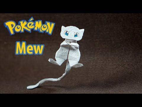 Photo of Paper Pokemon – Origami Mew – ミュウ tutorial (Henry Phạm)