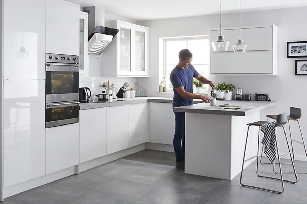 The FAB new B&Q kitchen range is out... in 2020 Glossy