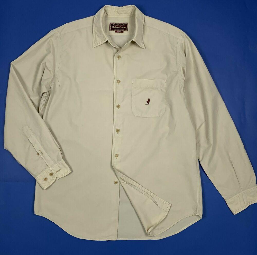 quality design 189e3 6a362 Marlboro classics camicia uomo usato estiva beige L shirt ...