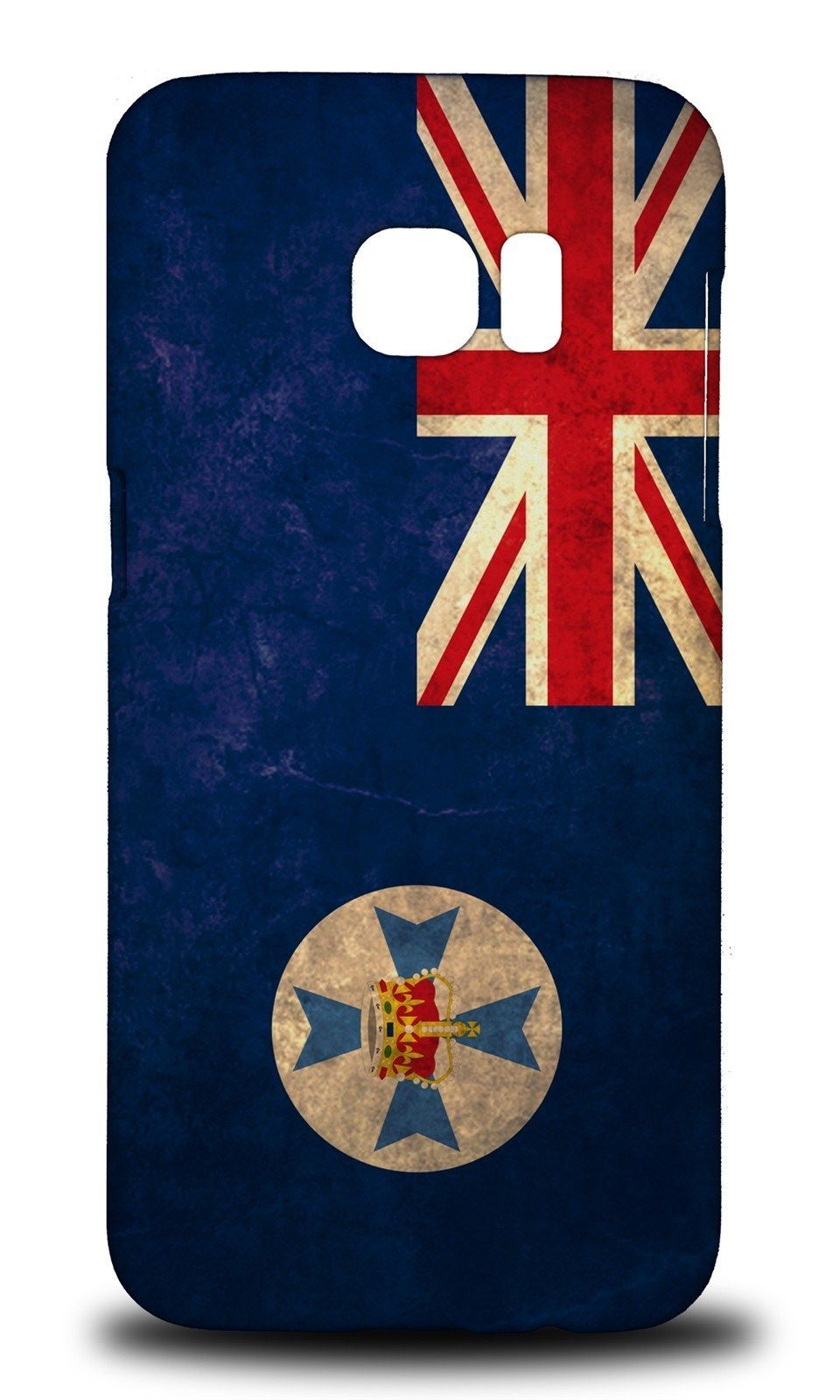 low priced 4e595 765df $11.95 AUD - Queensland Australian State Flag Hard Case Cover For ...