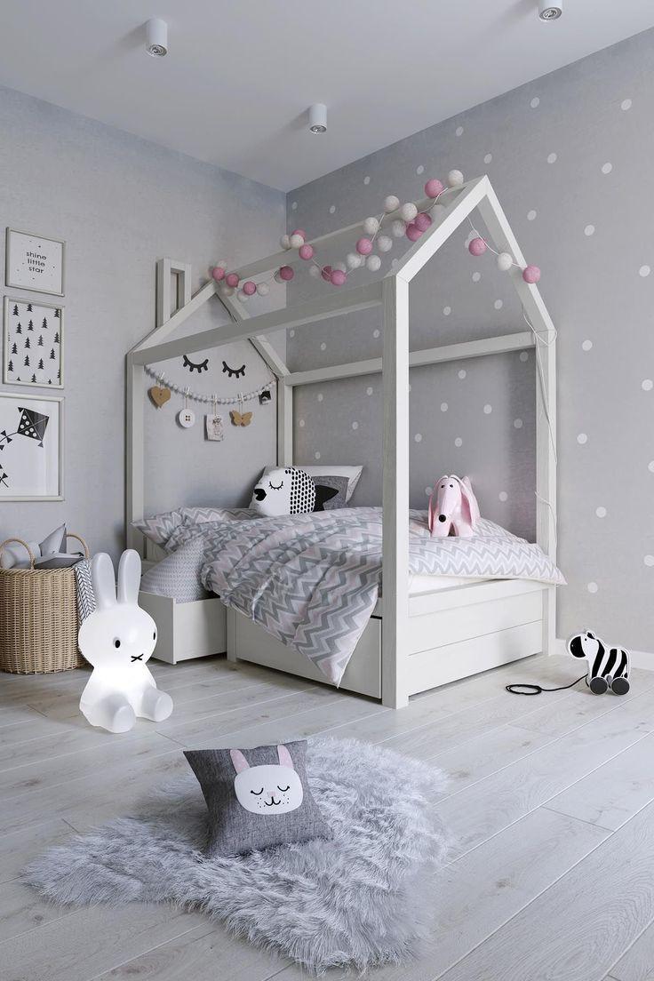 7 schöne Beispiele, die Ihnen helfen, ein Zimmer für ein junges Mädchen zu gestalten   – Kinderzimmer Mädchen