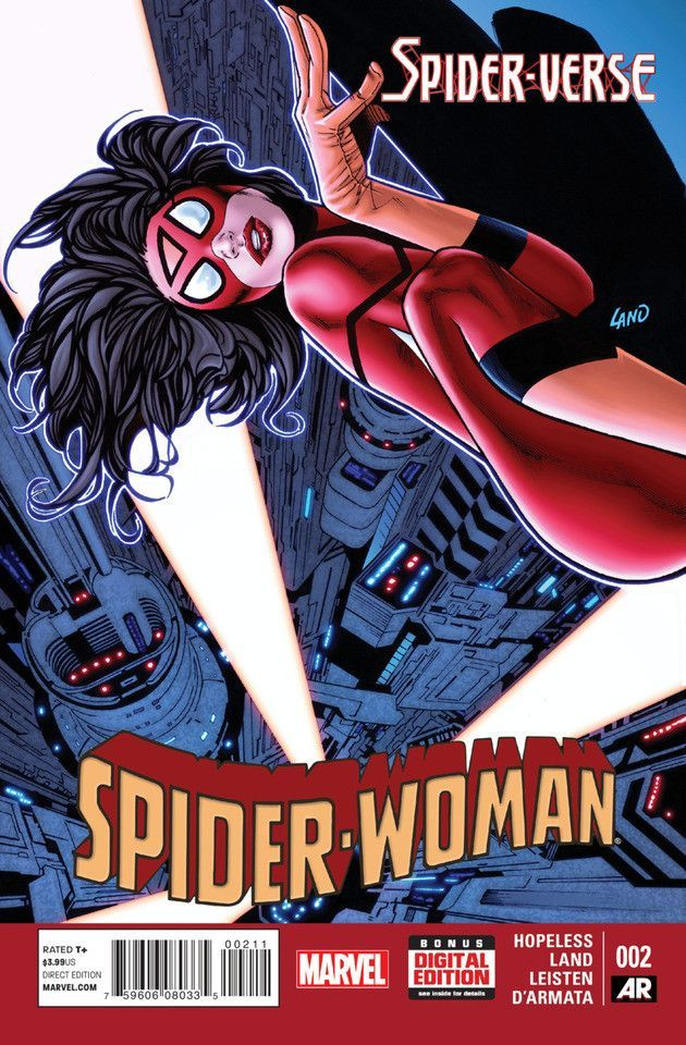 "In ""Spider-Woman #2,"" Spider-Woman and Silk get split up, leaving Spider-Woman alone and undercover in one of the most dangerous regions in the multiverse."
