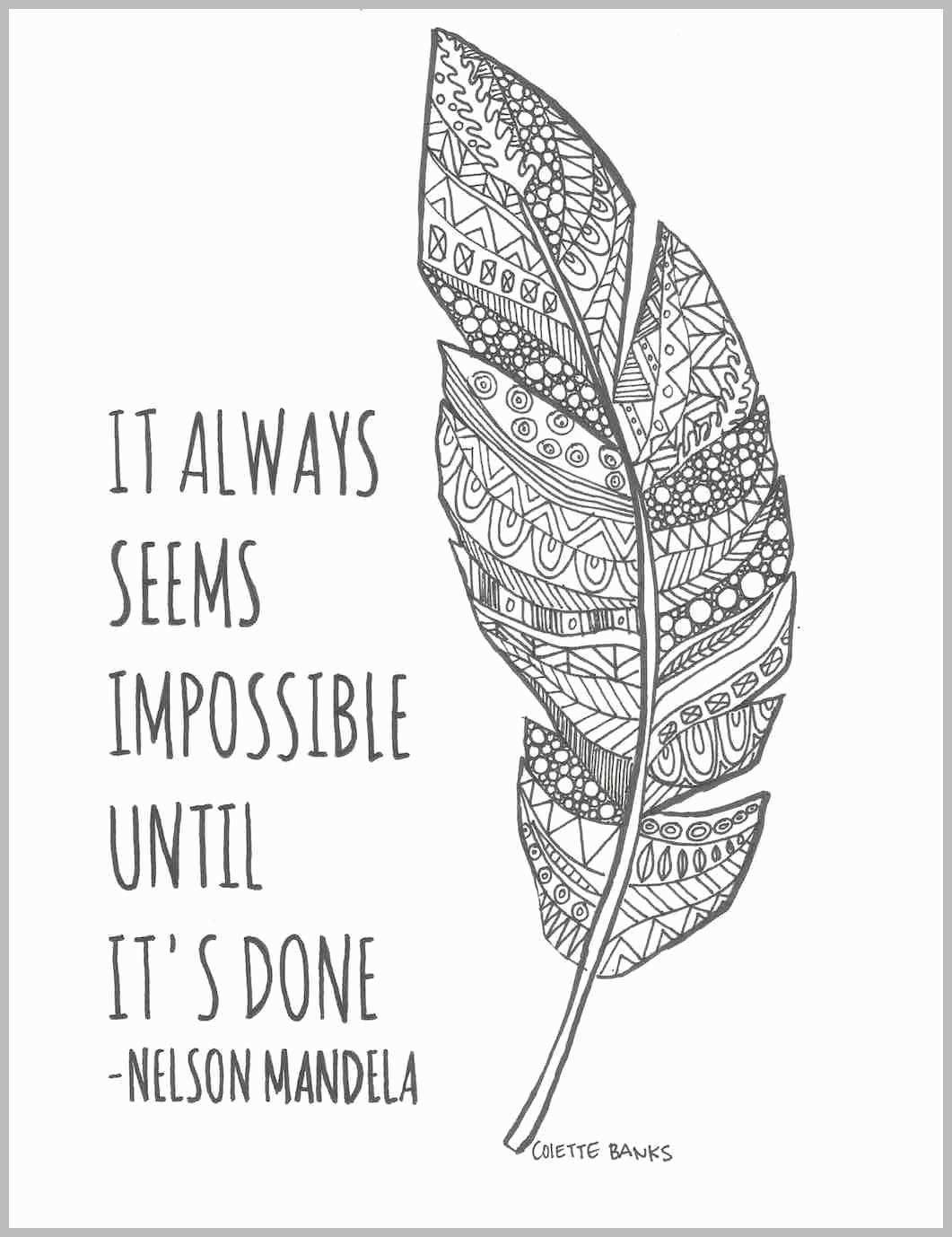 Adult Coloring Pages With Quotes Best Of Adult Coloring Page Quote