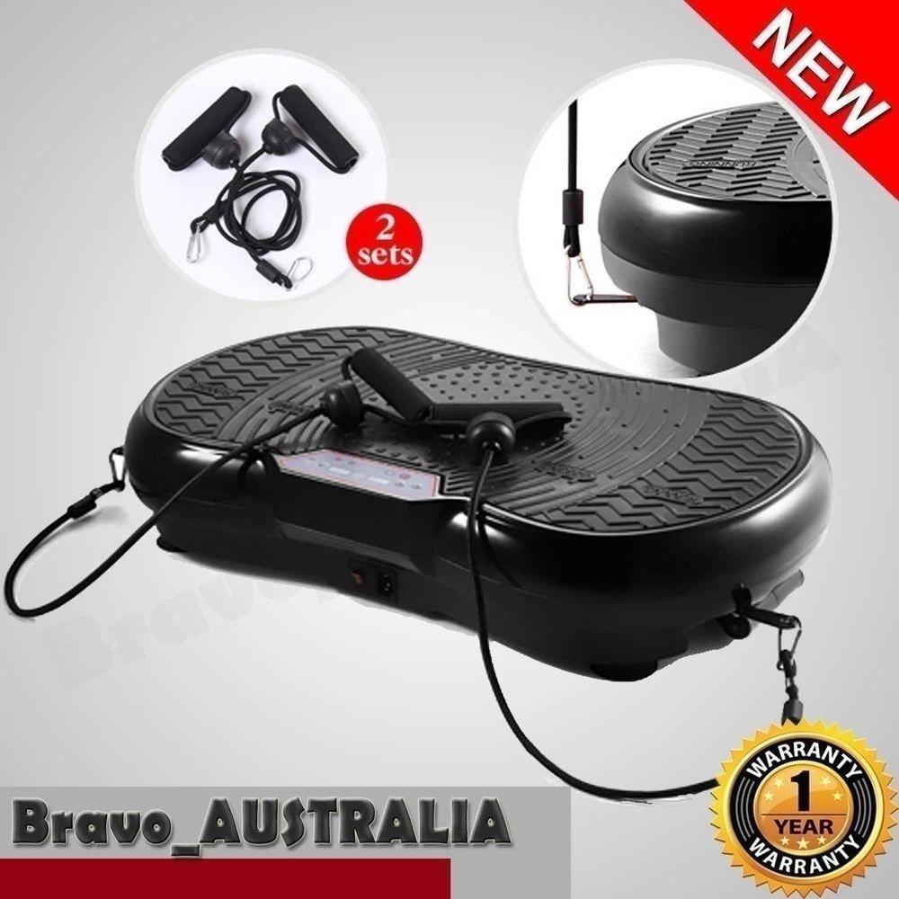 3027974097 Ultra Slim Vibration Machine Plate Platform Exercise Fitness Body Shaper  Massage