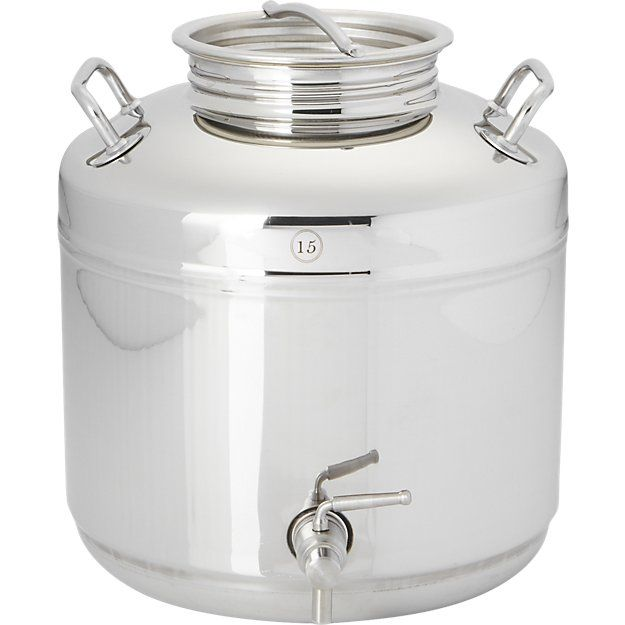 Fustis Stainless Steel Beverage Dispenser Reviews Cb2 Drink Dispenser Dispenser Water Carafe