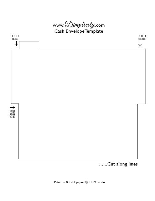 Dimplicity - Crafty Blog: Cash Envelope System – Printable | PLANNER ...