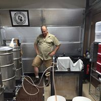 A Brewer From Antioch Brewing Co Watches On As His Custom Bubba S Barrels Brewing System Works Its Magic Brewing Co Antioch Brewing