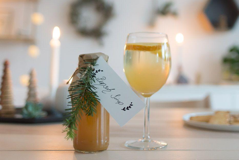 Selbstgemacht Punsch Sirup Bester Weihnachts Aperitif Villa Josefina Aperitif Punsch Rezept Getranke Weihnachten