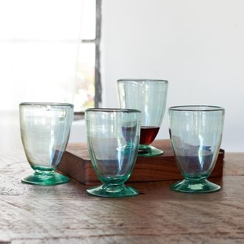 Artisanal Glass Goblets, Set Of 4 in Spring 2013 from Sundance on shop.CatalogSpree.com, my personal digital mall.