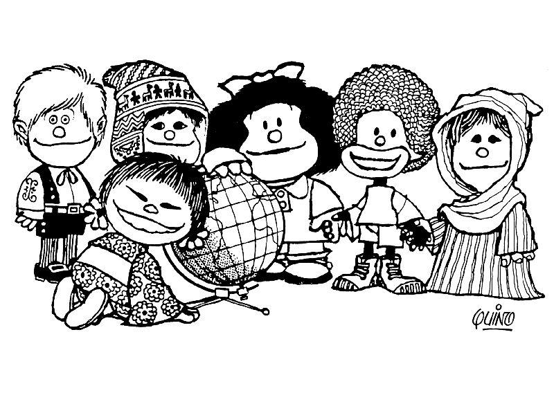 Dibujos para Colorear Mafalda 10 | Dibujos para colorear para niños ...