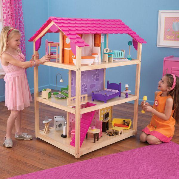 Casa de muñecas so chic Kidkraft | Muñecas, Casas de muñecas y Juguetes