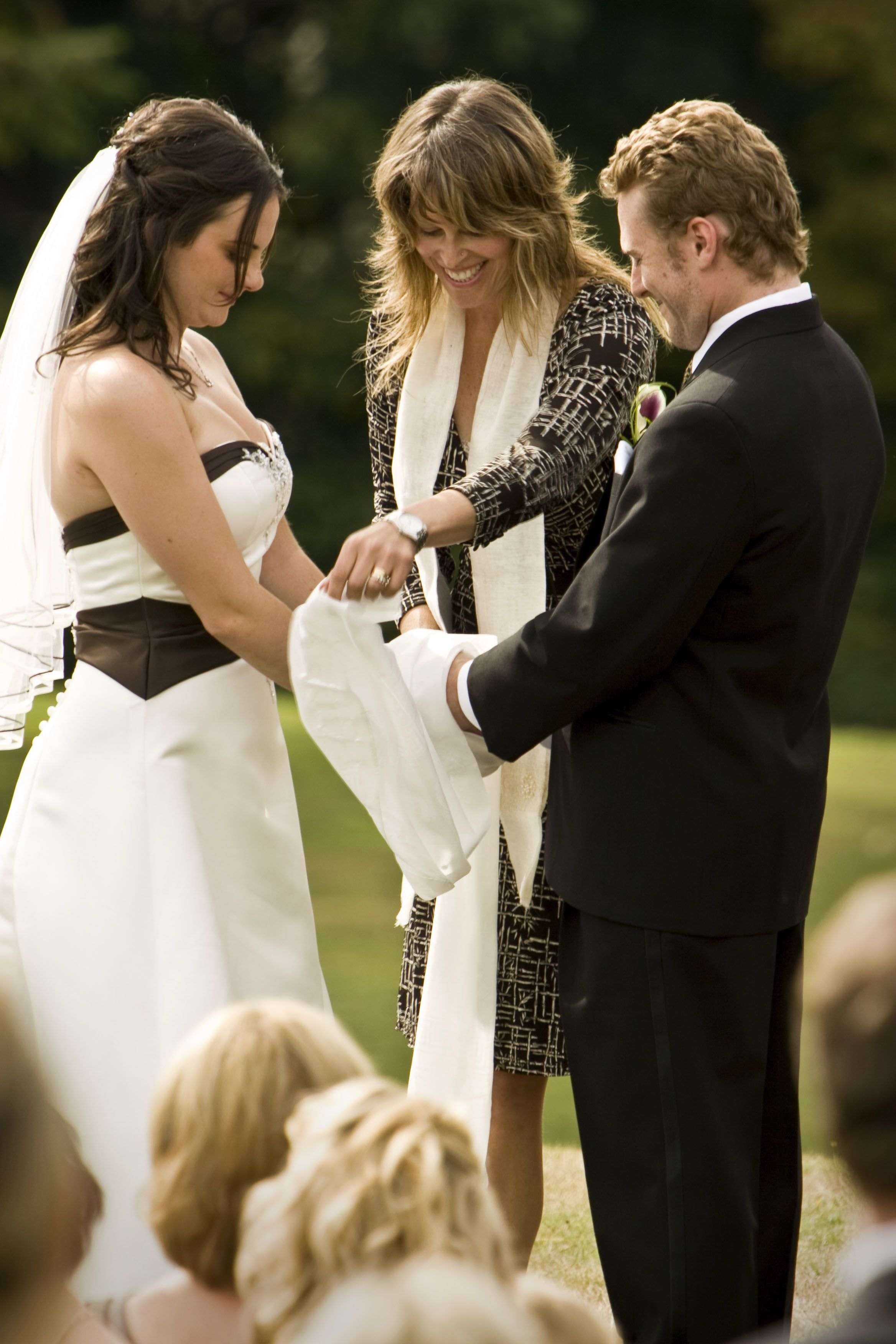 We Will Be Adding In A Handfasting Ceremony To Honor John S Scottish Heritage