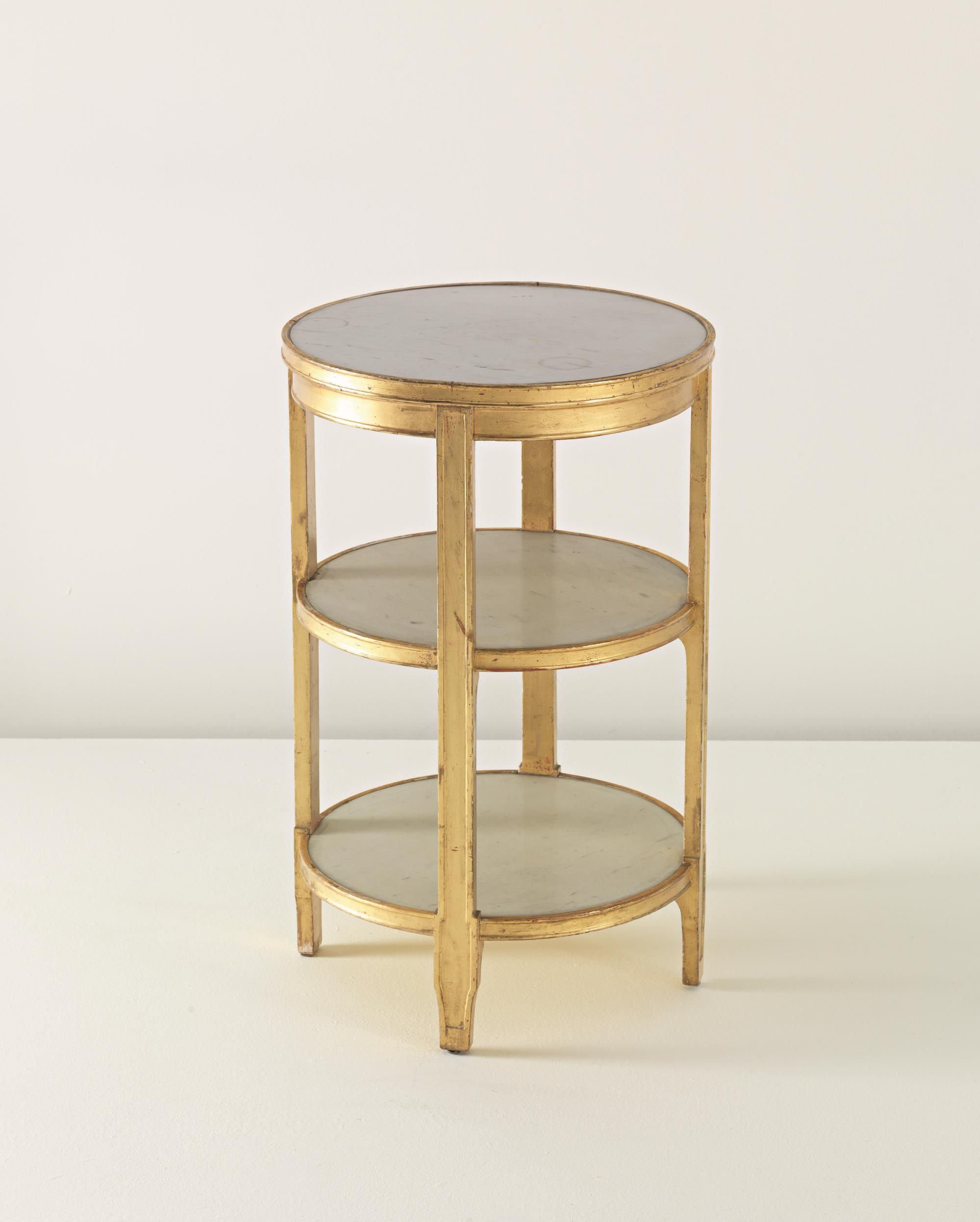Jean Michel Frank Important Side Table With Drawer Designed For  # Muebles Saint Michel