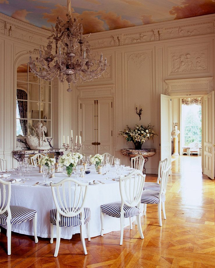 Tyringham Hall Dining Room