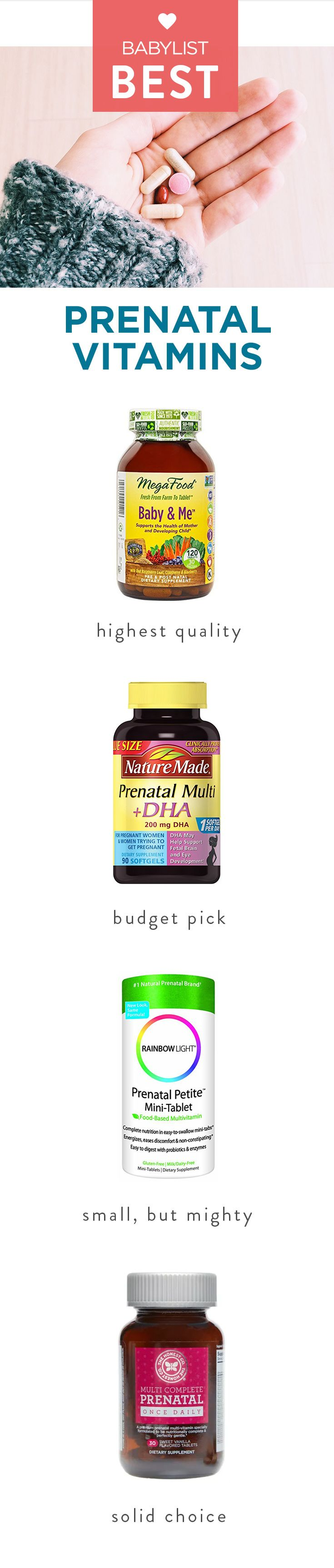 The Best Prenatals That Deliver That Boost You Need When You Re Ttc Best Prenatal Vitamins Prenatal Vitamins Prenatal