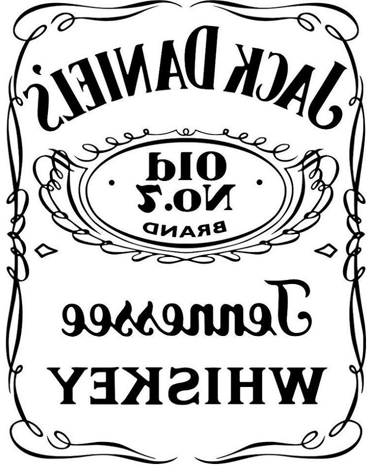 Jack Daniels Label templates Jack daniels logo, Jack