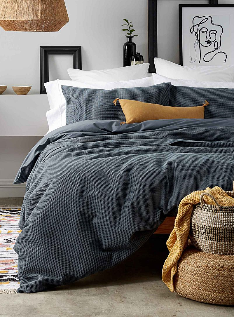 Basketweave Duvet Cover Set In 2020 Duvet Cover Master Bedroom