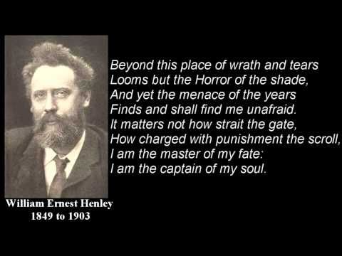 Invictus Poem By William Ernest Henley With Text