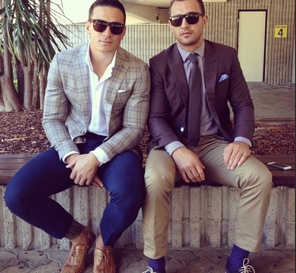 Sonny Bill Williams & Quade Cooper. Rugby Babes!