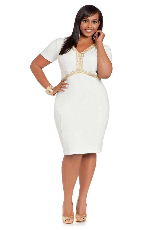 Ashley stewart womens plus size ponte elbow sleeve dress