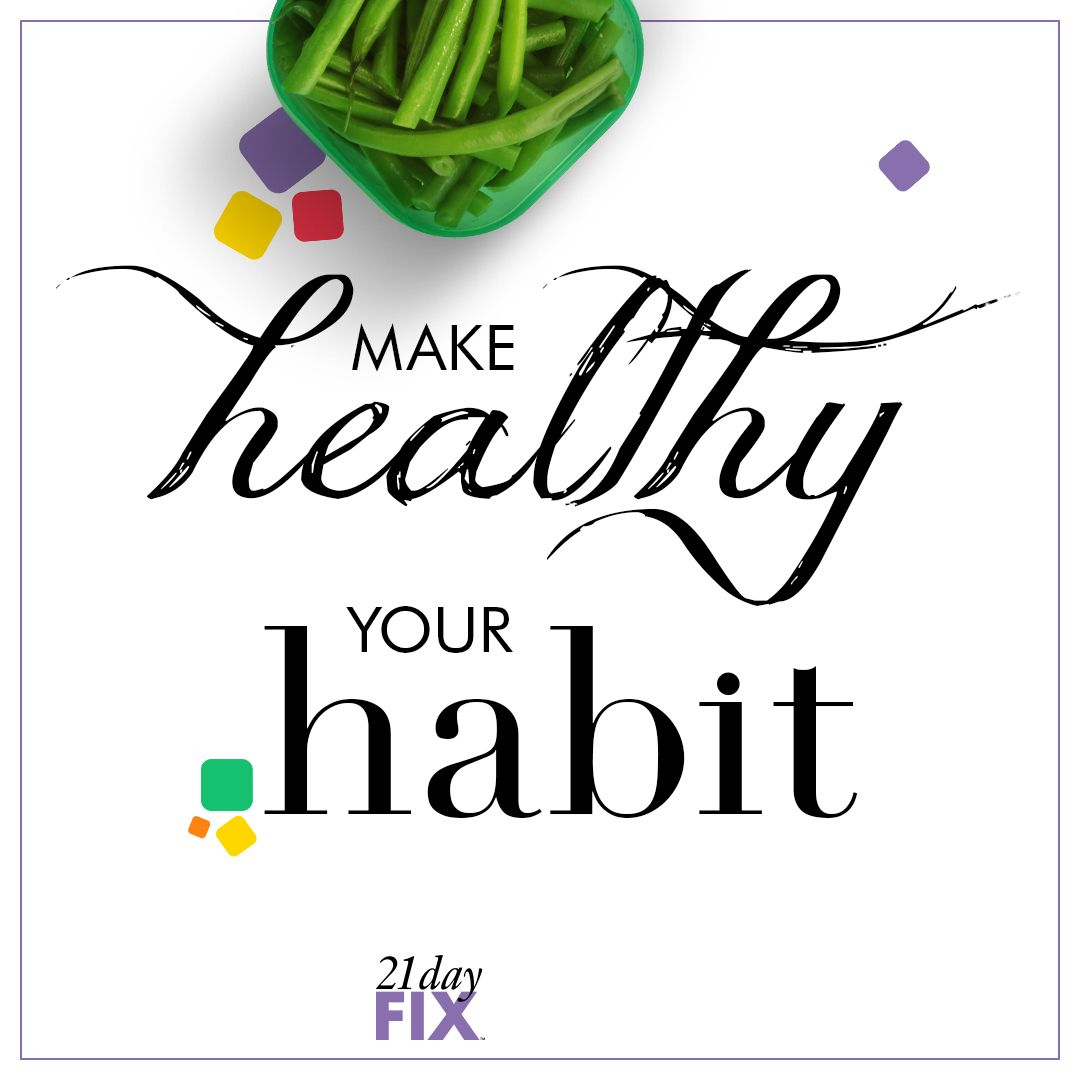 It takes 21 days to create a habit. Make this habit your
