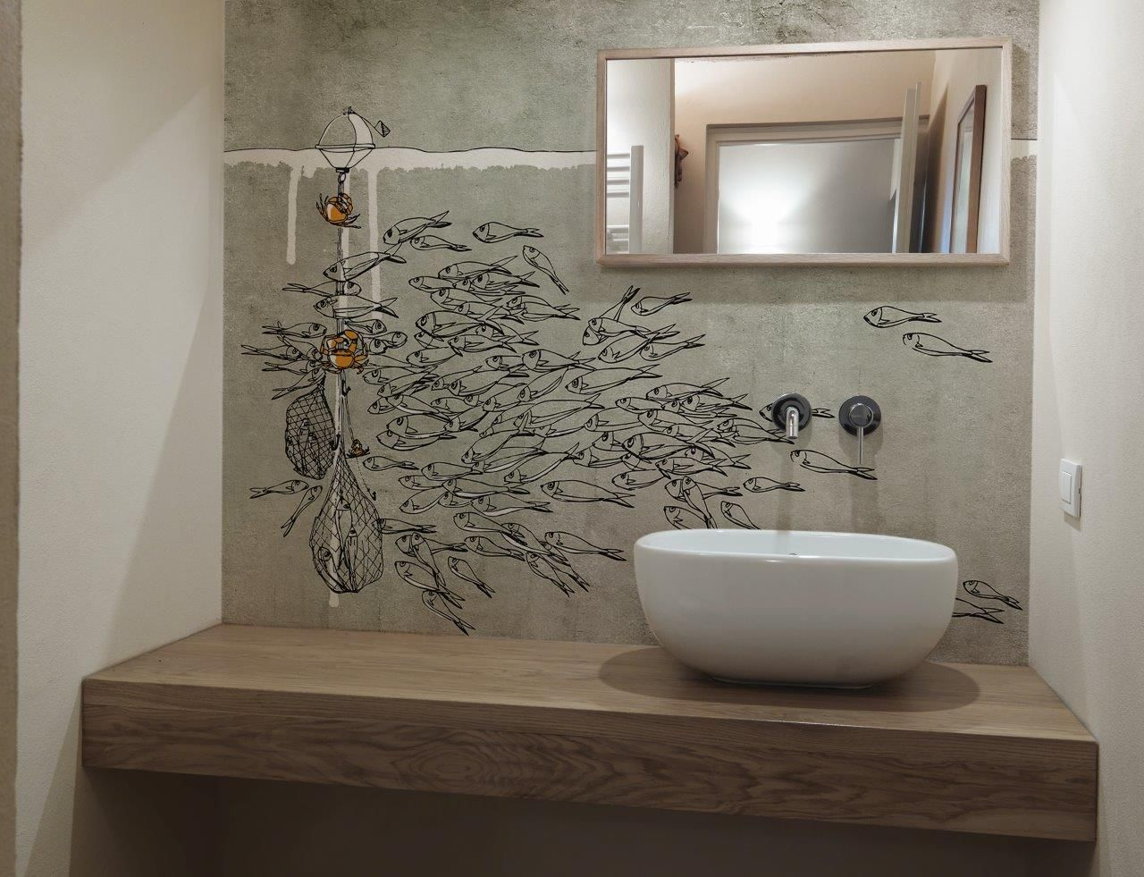 SEA, one of Glamora's unique and mesmerising wall