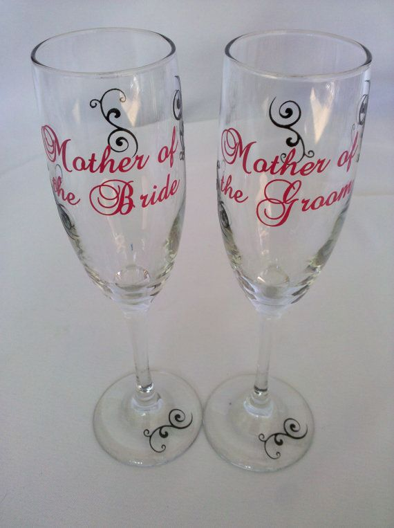 2 Personalized Mother of the Bride and Mother by WaterfallDesigns, $24.00
