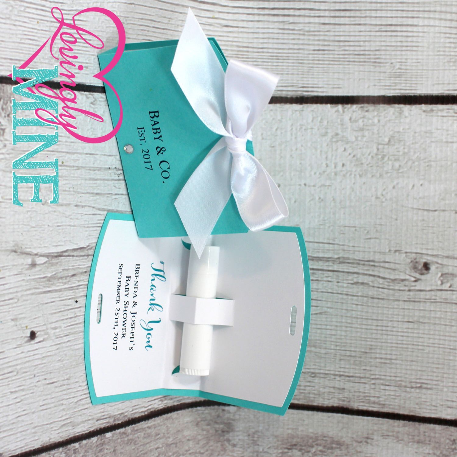 Tiffany Blue - Tiffany & Company - Chap Stick Holder Favor Bags in ...