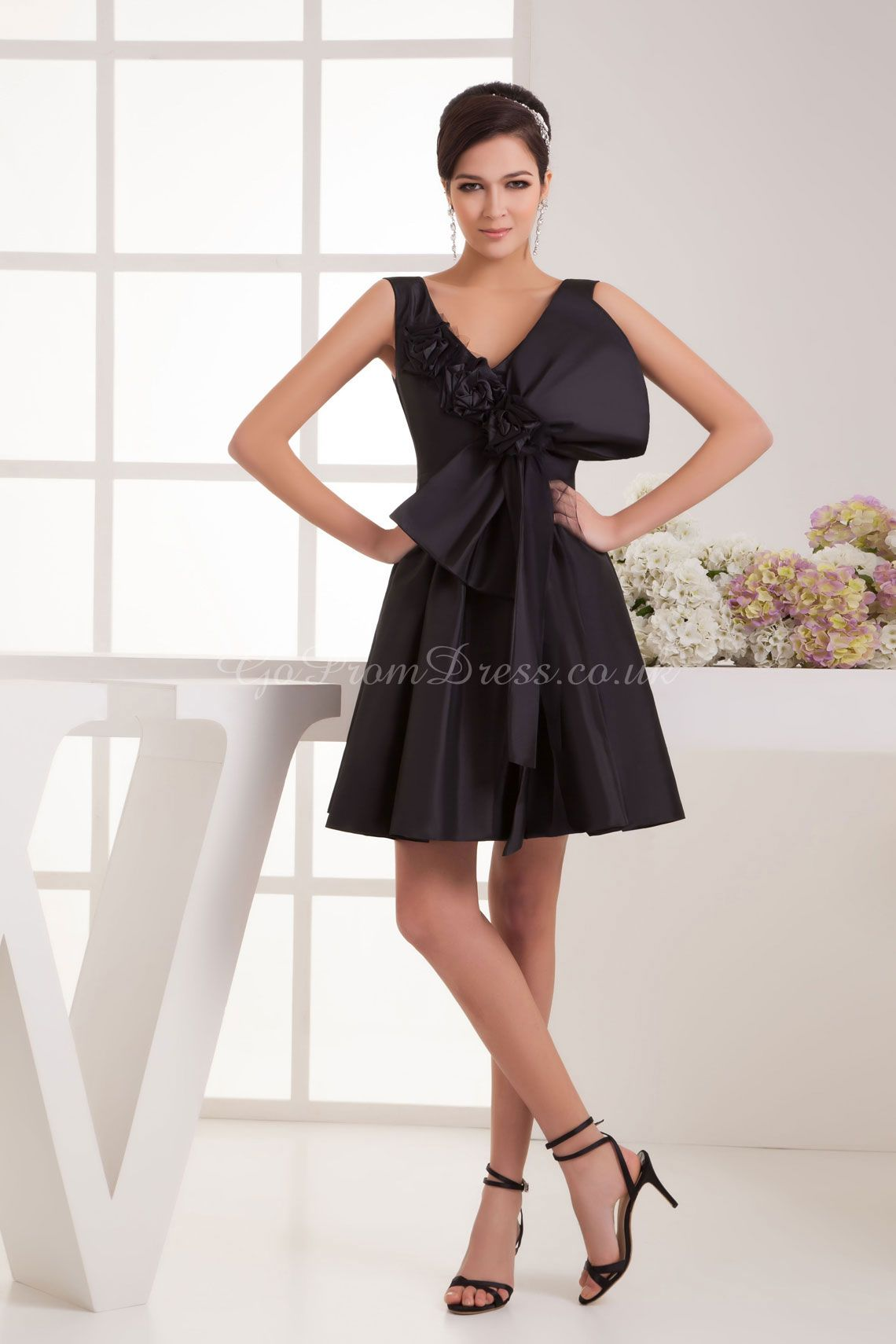 Black dress for wedding party  cocktail dresses  Short Dresses  Pinterest  Fall winter fashion