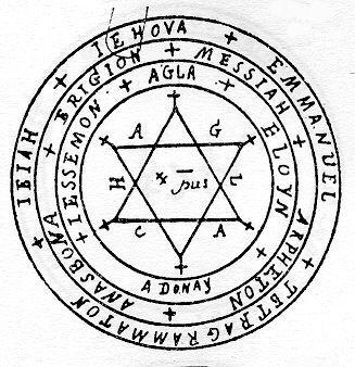 Les Autres Pentacles Un Oeil Sur L Au Delà Sceau De Salomon Pentacle Symbole Magique