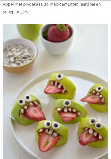 Fruit Monster Faces From What I Can Tell These Are Made Up Of