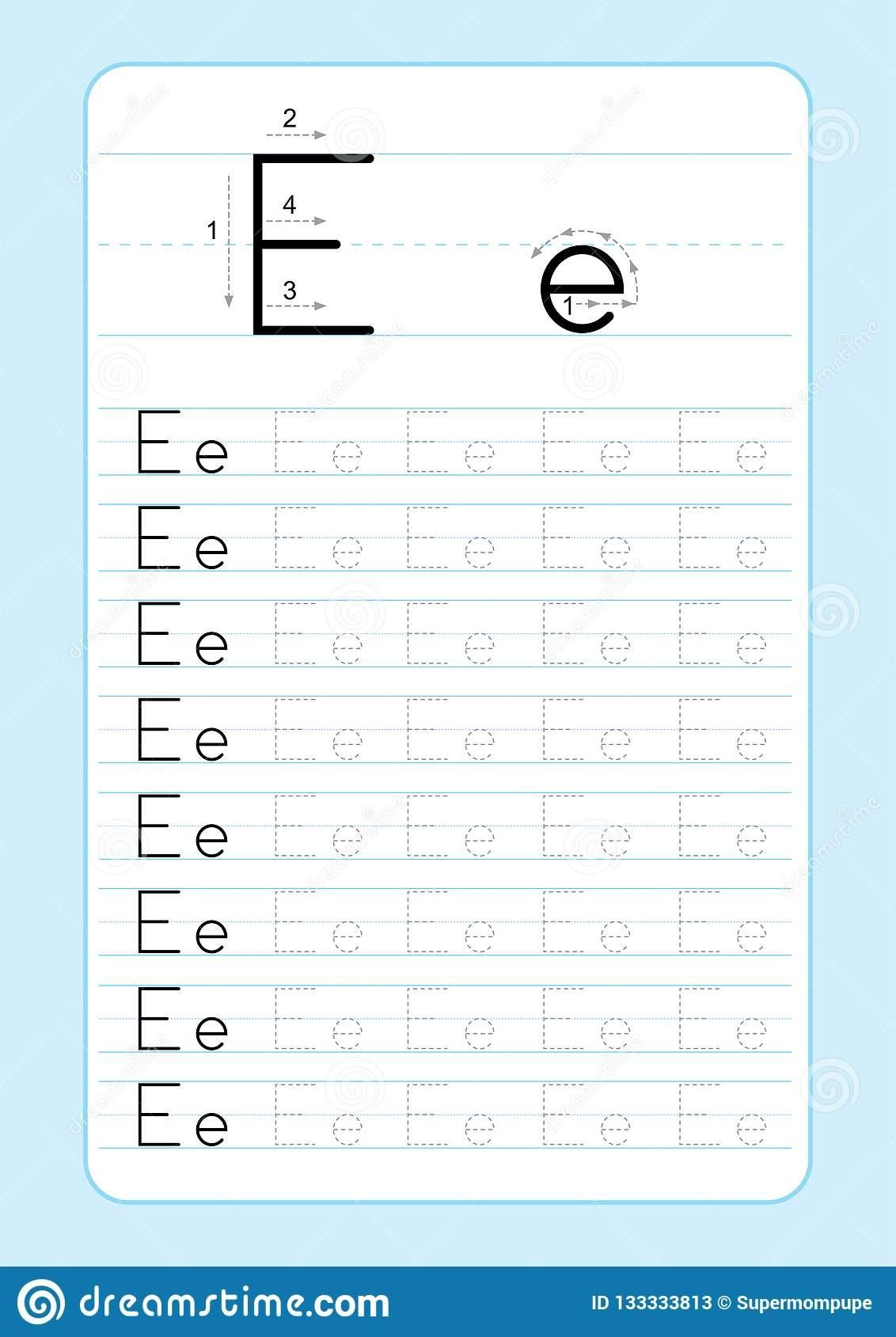 Abc Alphabet Writing Worksheets In