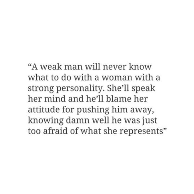Weakness of men in relationships