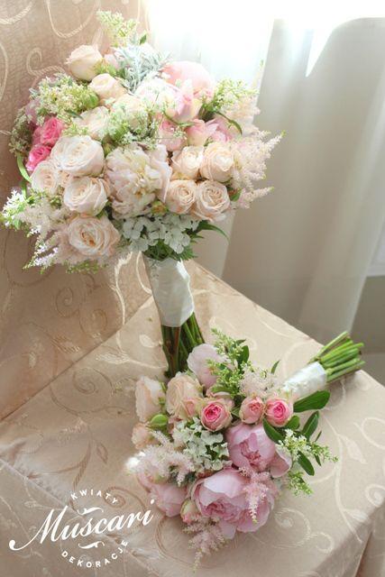 Bukiety Slubne Bukiety Swiadkowych I Druhen Muscari Floral Wreath Wedding Floral