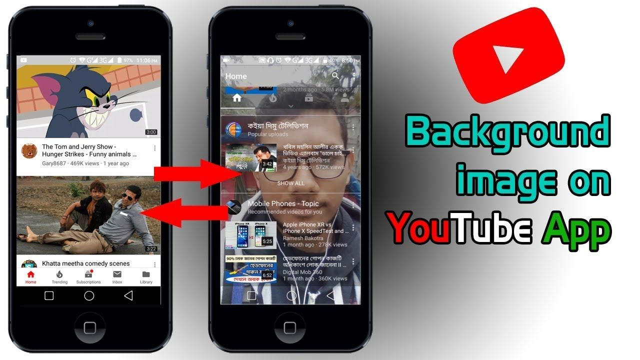Best App Of 2019 Add Background Image On Youtube App 2019