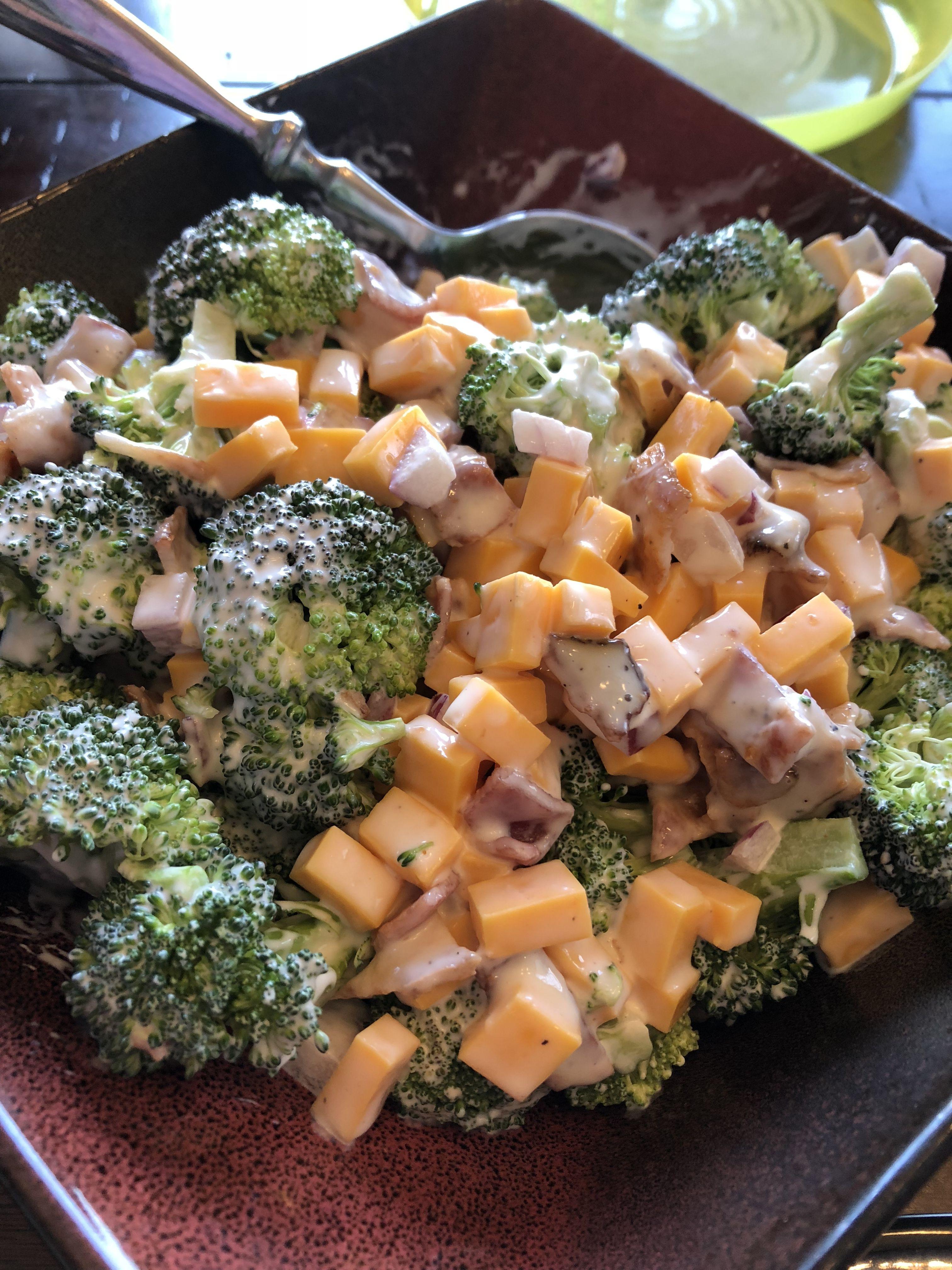 Salade de céto au brocoli