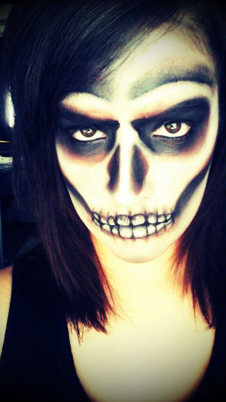 halloween makeup app Masken, Schminken