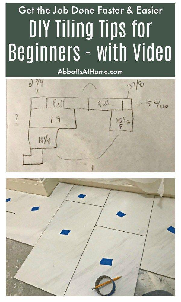 DIY Tips for Installing Floor Tile - Bathroom Remodeling ...