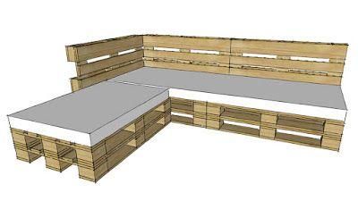 Costruire Mobili Con Pallet : Come costruire un divano con i pallet video tutorial fai da te su