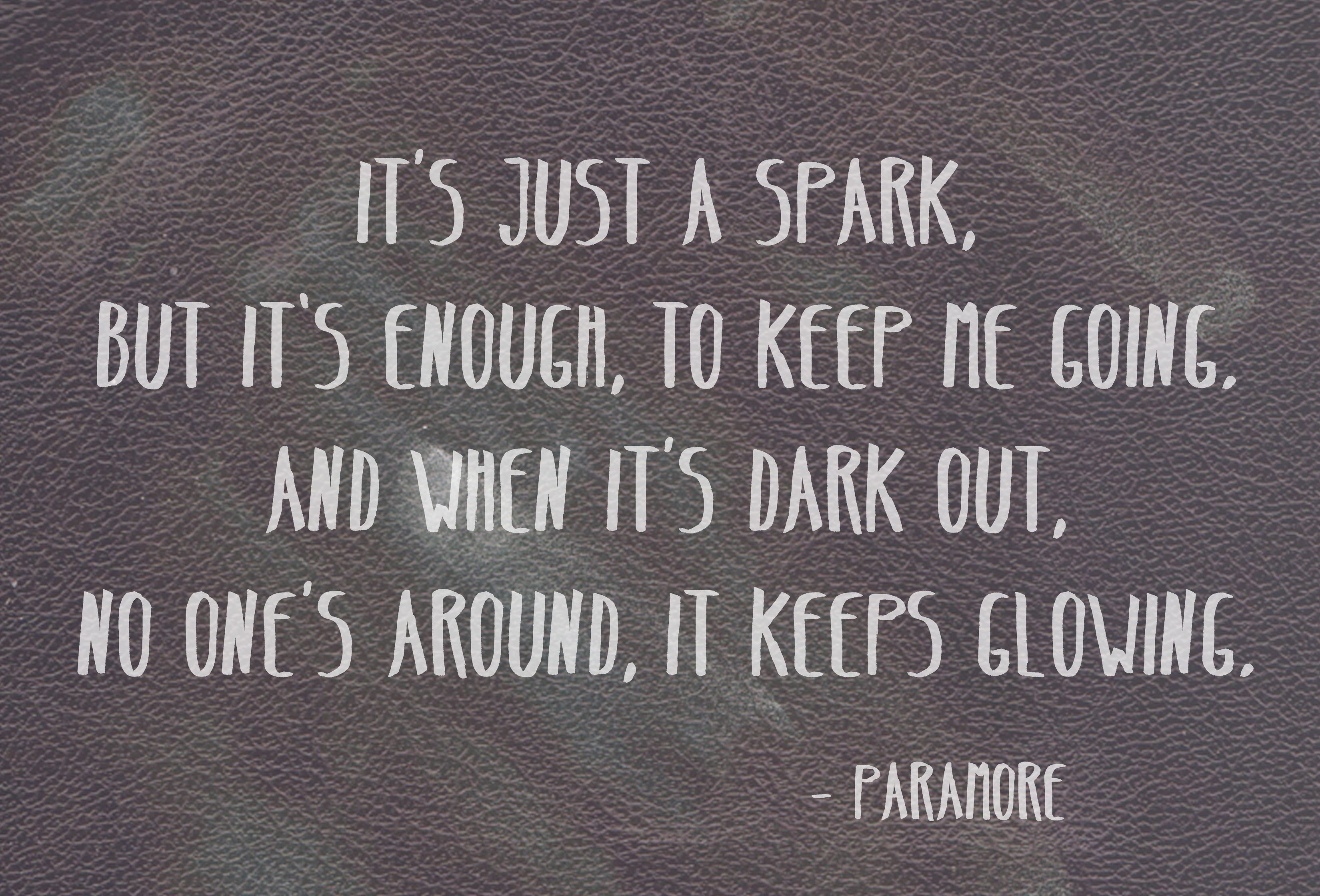 Last Hope - Paramore   Paramore   Lyric Quotes, How are ... Paramore Song Quotes