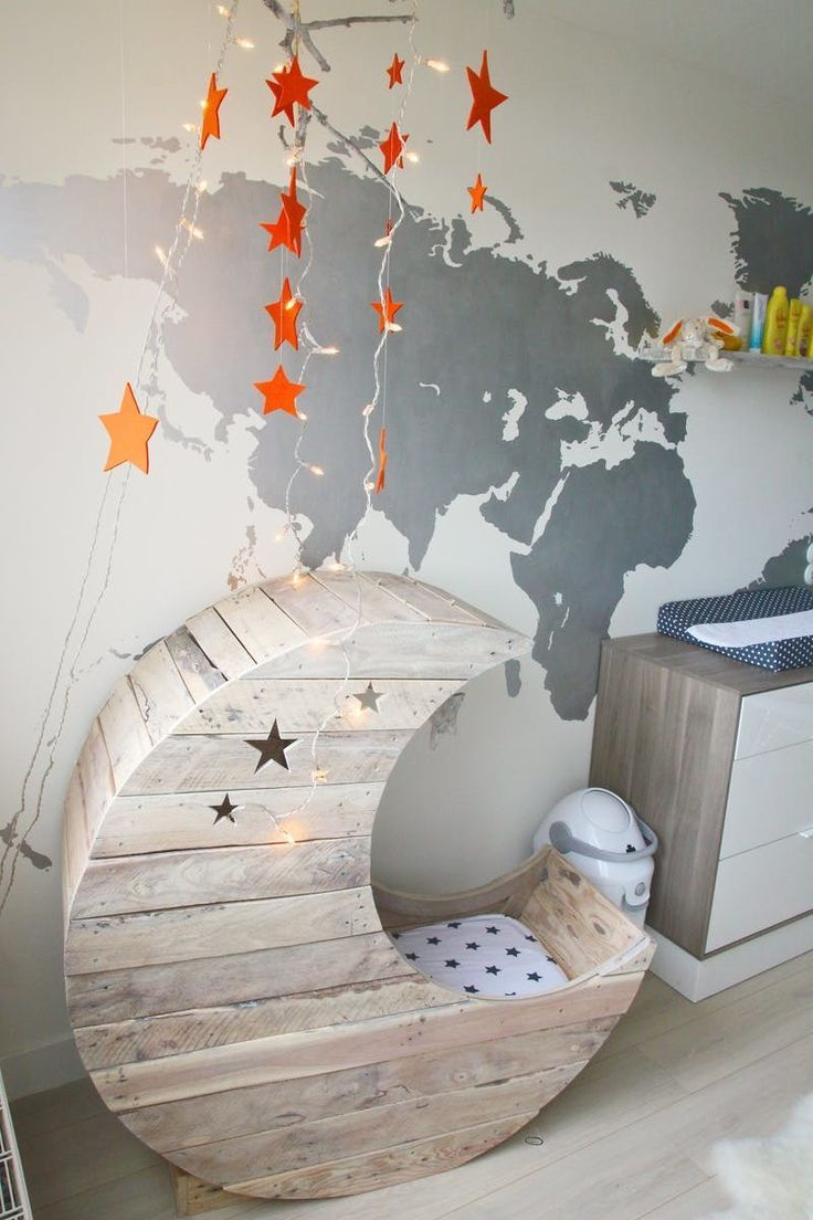 babyzimmer gestalten babywiege anleitung und 40 tolle ideen home pinterest kinderzimmer. Black Bedroom Furniture Sets. Home Design Ideas