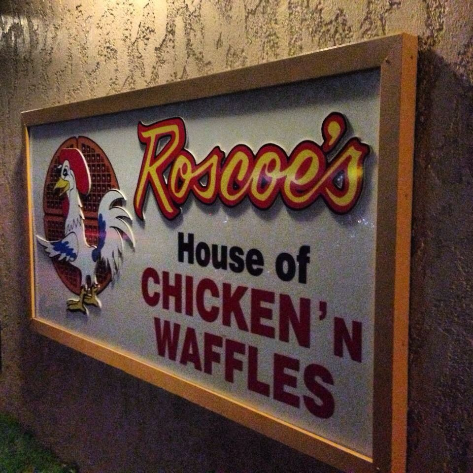 Gotta try it at least once in your life! Roscoe's was awesome!