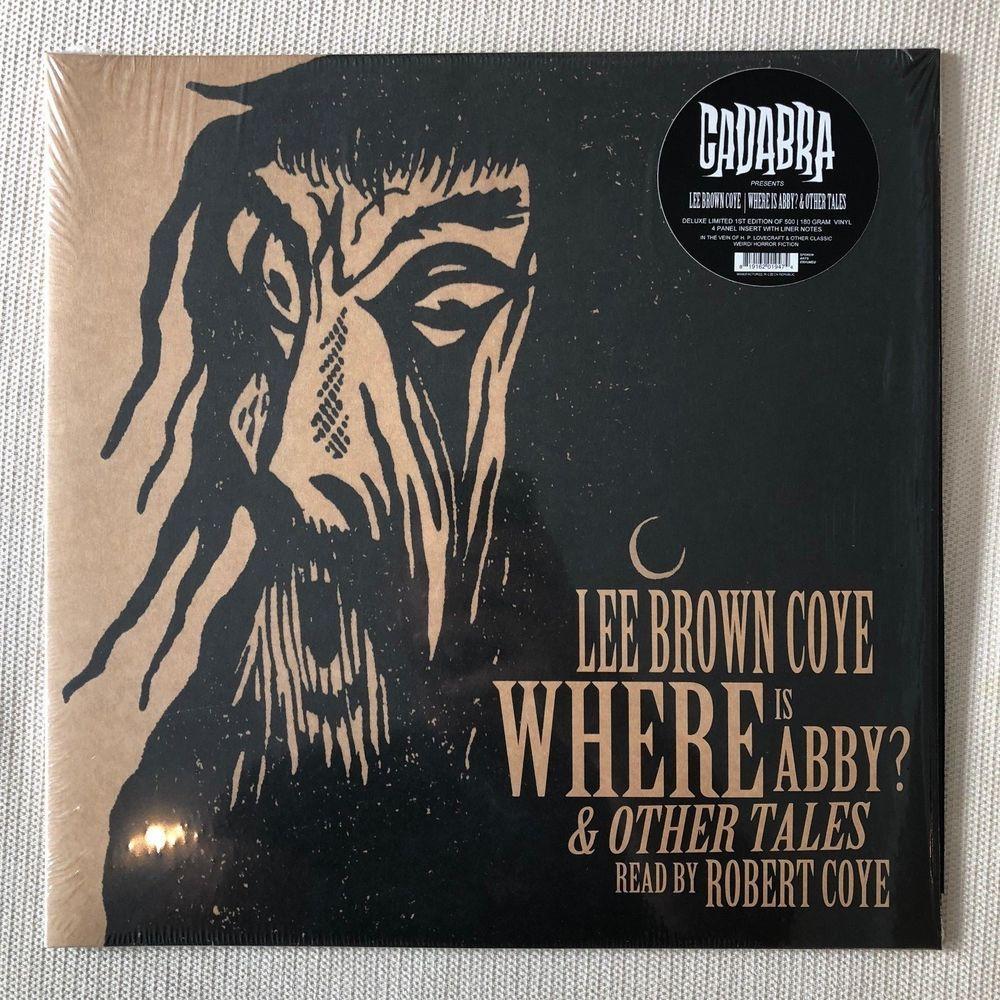 Where Is Abby 180 Gram Vinyl Cadabra Records Lee Brown Coye Lp Halloween Ebay Weird Fiction Vinyl Album Covers