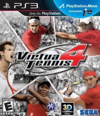 Ps3 Sega Virtua Tennis 4 Wii Video Games Playstation Video Games Playstation