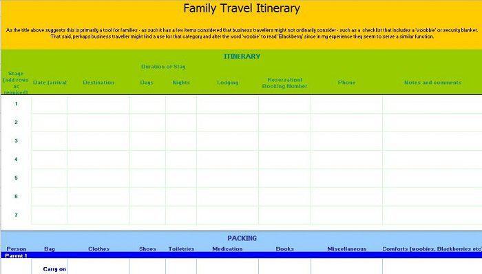 30+ Itinerary Templates (Travel, Vacation, Trip, Flight ...